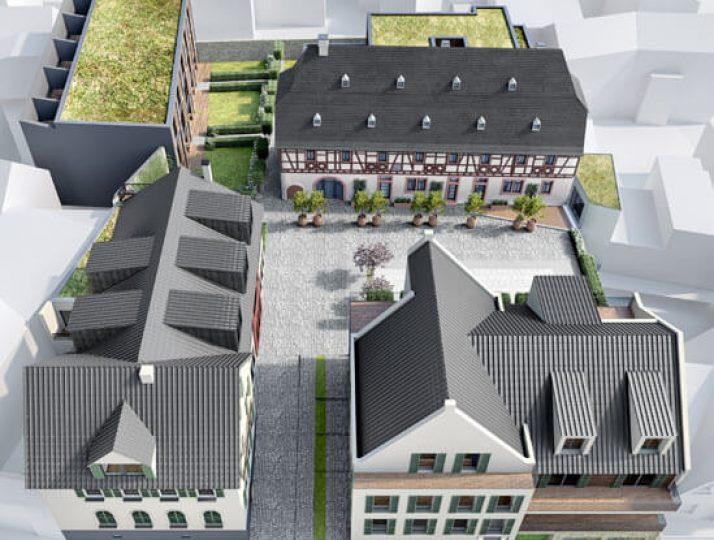 Denkmalimmobilie Gutshof in Kiedrich – Winzerhaus in bester Lage